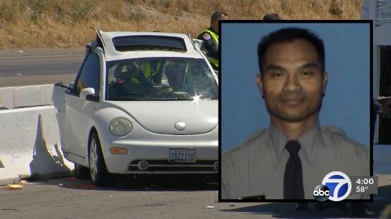 Video: CA Deputy Dies in Bus Crash