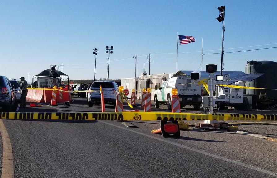 Gunman Attacks AZ Border Patrol Checkpoint