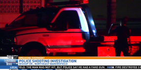 Video: Man Shoots Realistic Blank Gun at CA Officers During Chase