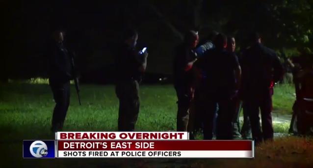 Video: Undercover Detroit Officers Ambushed by Gunmen