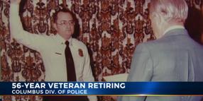 Video: Longest-Serving Columbus, OH Police Officer Retires