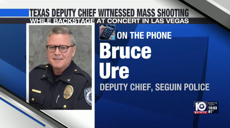Video: Off-Duty TX Officer Helped Save Wounded Concertgoers in Las Vegas