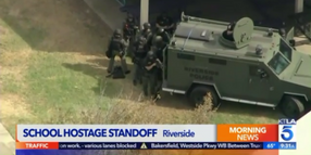 Video: Police Rescue Teacher Held Hostage at CA Elementary School