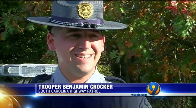 Video: SC Trooper Saves 3-Month-Old Who Stopped Breathing