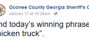GA Sheriff Uses Humorous Facebook Posts to Discourage Drivers from Testing Icy Roads