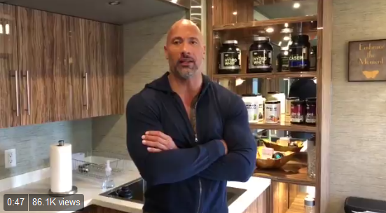 Video: 'The Rock' Sends Words of Encouragement to CO Deputy Wounded in Shooting