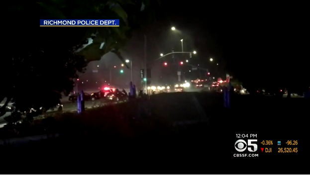 Video: CA Officer Struck by Car While Trying to Break Up Sideshow