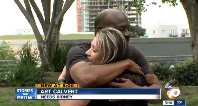 Video: CA Dispatcher Donates Kidney to Officer