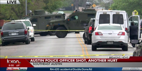 Video: 2 Texas Officers Injured Responding to 911 Call, Suspect Dead