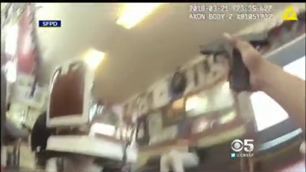 Video: San Francisco Police Release Footage of Deadly Barber Shop Shooting