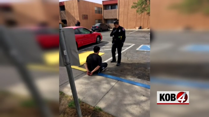 Video: New Mexico Officer Apprehends Murder Suspect on Her First Day