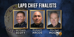 Video: 3 Candidates Vying for LAPD Chief Job, Newspaper Reports