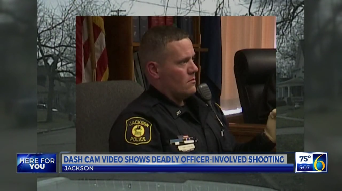 Video: Dashcam Footage Shows OIS that Injured Michigan Deputy