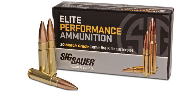 SIG Introduces 300 Blackout Elite Performance Ammunition