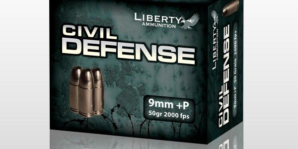 Civil Defense Line of 9mm, .40 S&W, .45 ACP and .380 Auto