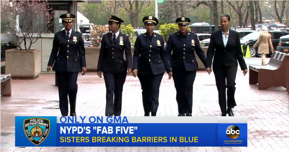 Video: 5 Sisters Serve on NYPD Together