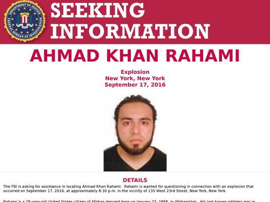 Manhunt Underway for Suspect in NY, NJ Bombings