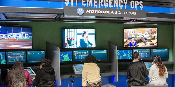 Visitors at the National Law Enforcement Museum in Washington, DC, can experience a simulation...