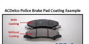 ACDelco Introduces Coated Police Brake Pads