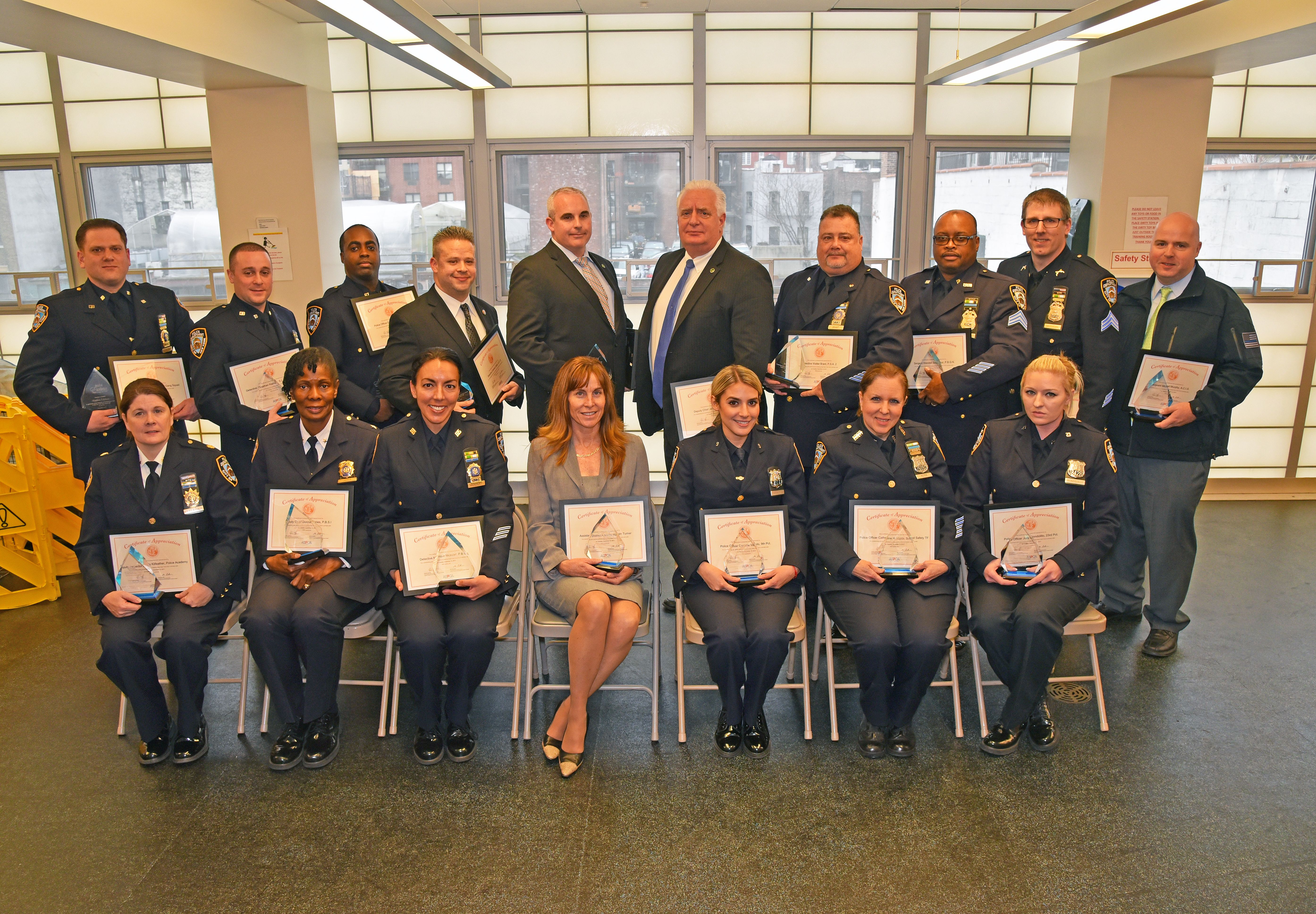 ASPCA Honors NYPD Officers at Appreciation Luncheon