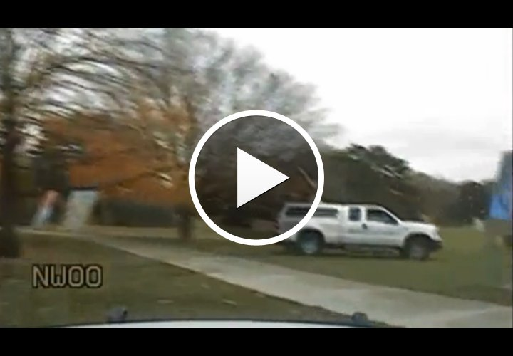 Video: Wild Iowa Chase Ends With Police Shooting