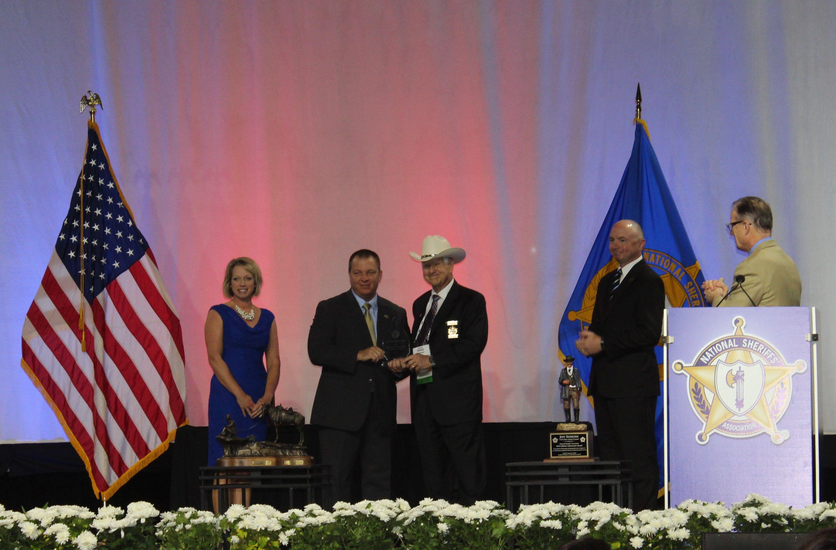 Crime Victim Services Award Honors South Carolina Sheriff's Office