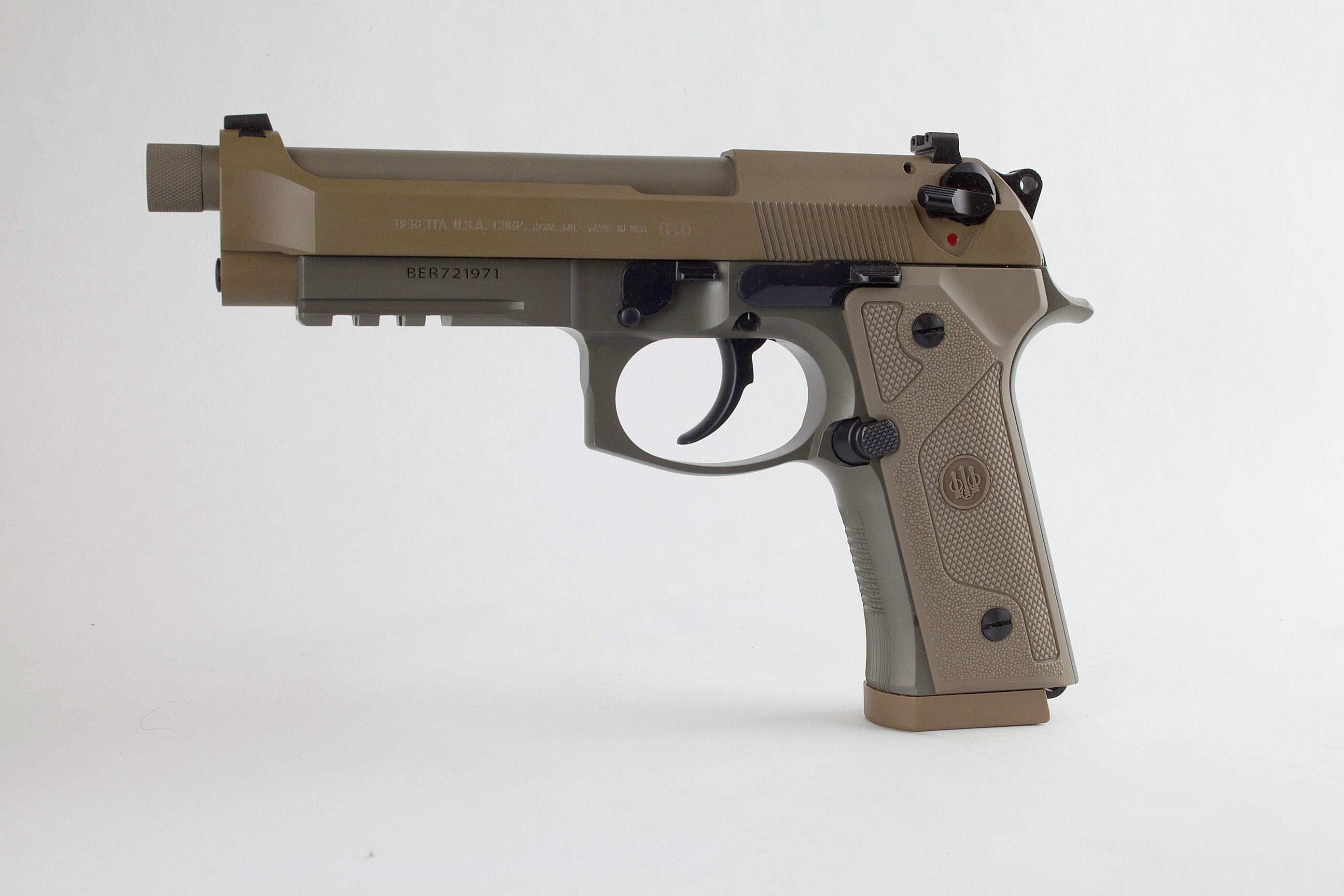 Beretta M9A3 Available for Military and Law Enforcement Agencies