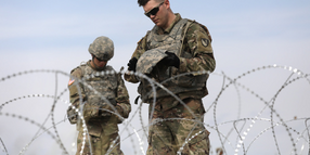 Trump Administration Gives Some Police Power to Troops Deployed at Southern Border