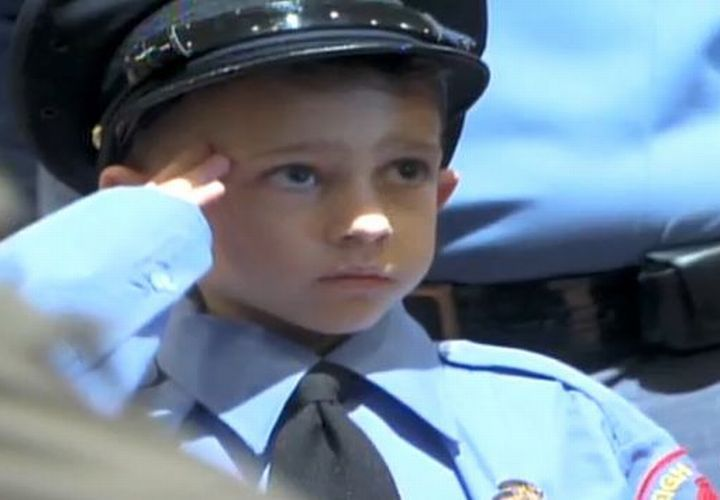 N.C. Boy Buried With Full Police Honors