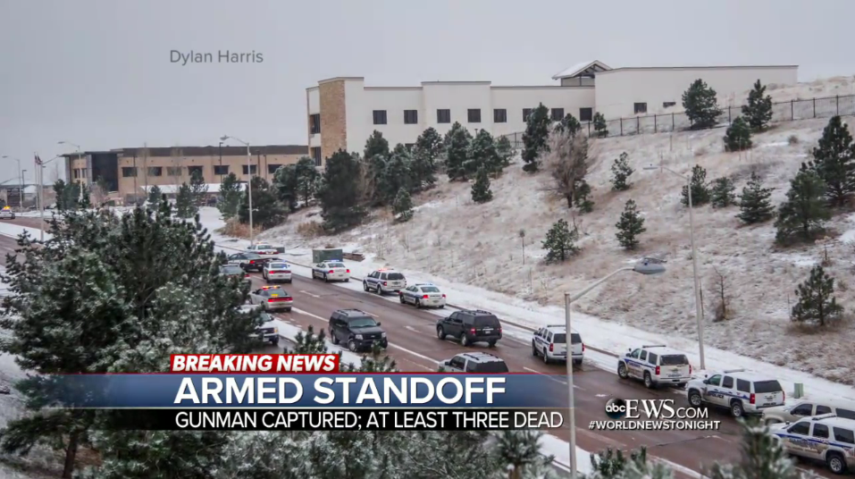 Video: Colorado Officer, 2 Civilians Killed by Abortion Clinic Active Shooter