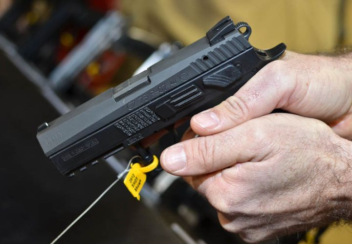 SHOT Show 2012: CZ-USA's Pair of P-07 Duty Pistols - Weapons