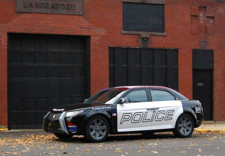 BMW Will Supply Diesel Engines For Carbon Motors' E7 Patrol Car