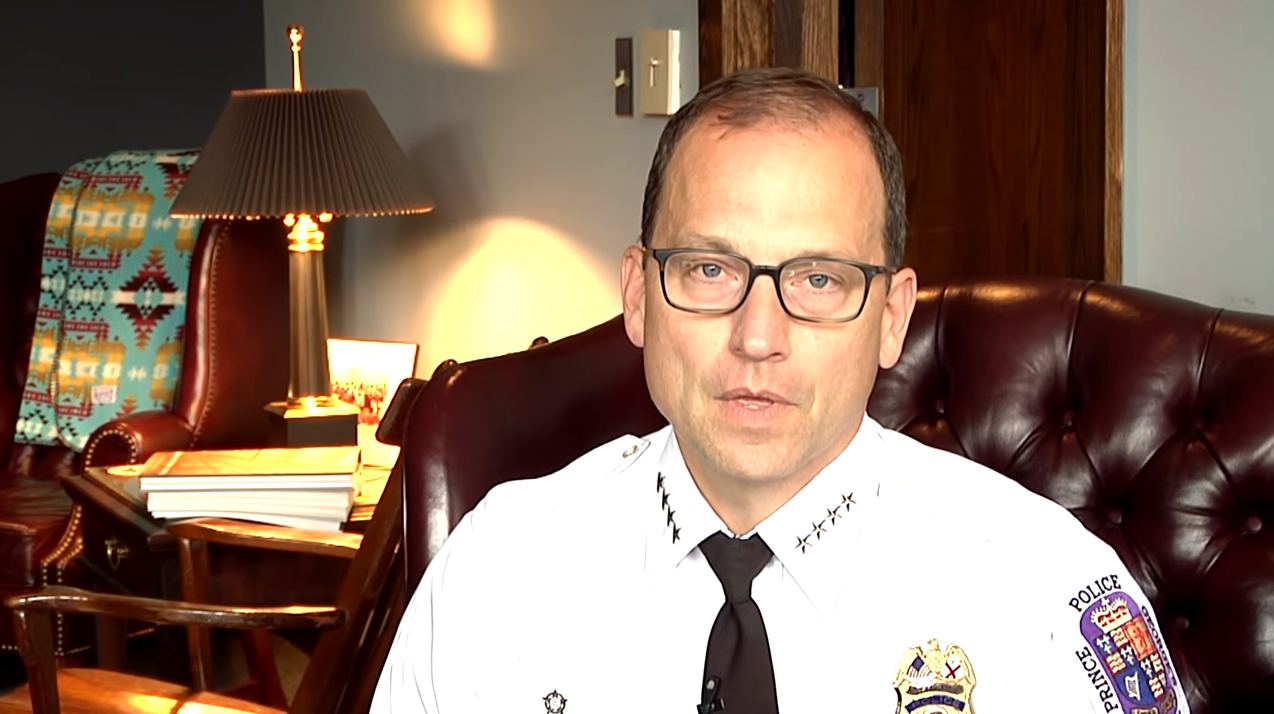 Video: Maryland Chief Apologizes for Officer's Comment About 'Black Bad Guy'