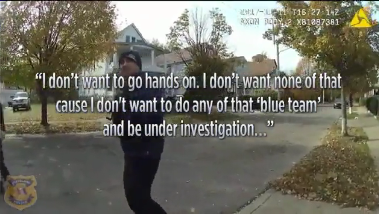 Video: Cleveland Officer Under Investigation for Not Aiding Other Cops in Struggle