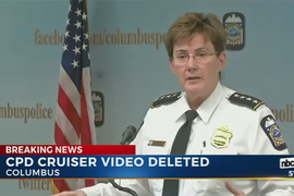 Video: Columbus Police Accidentally Delete 100,000 In-Car Video Files