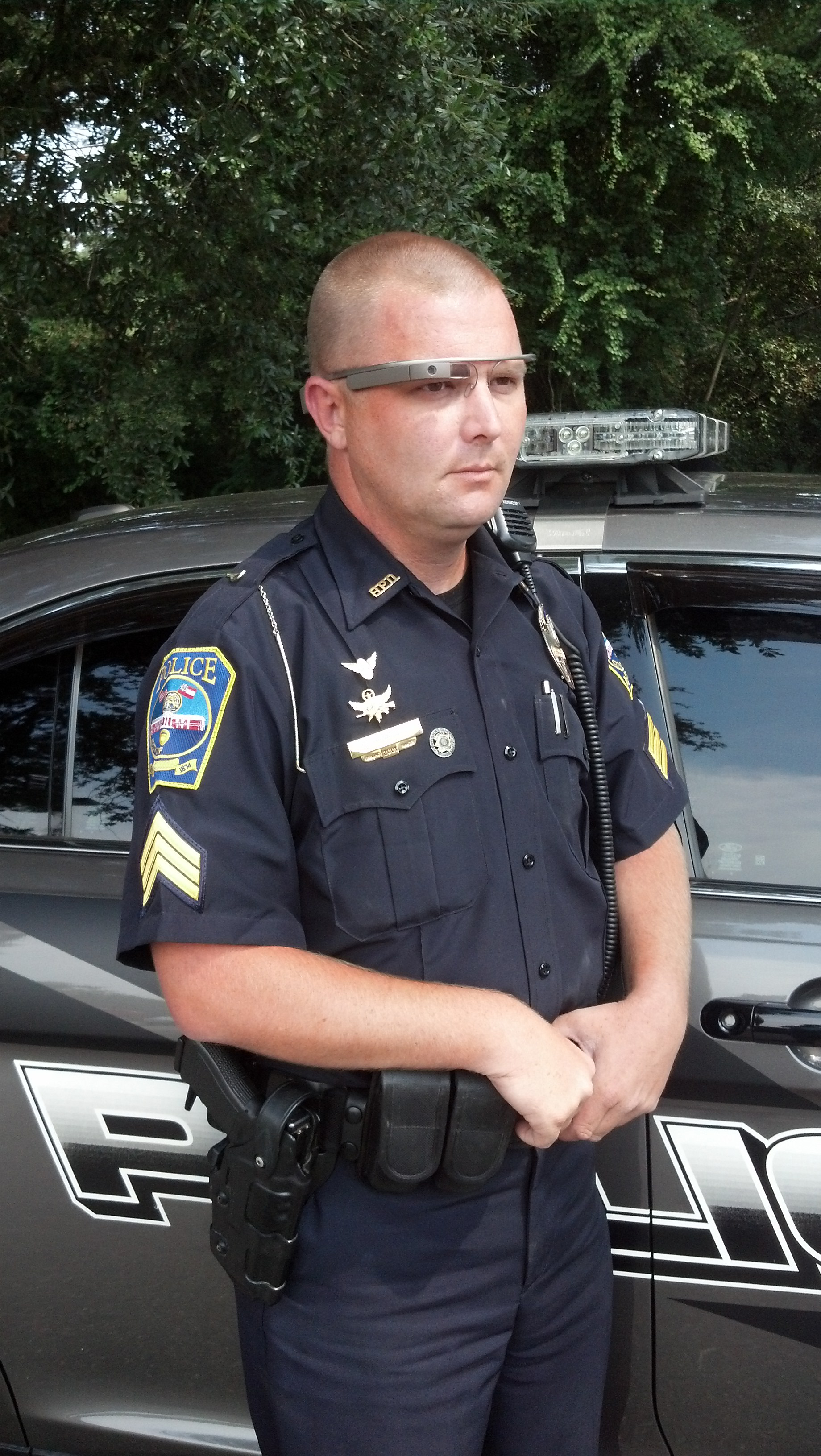 NYPD Testing Google Glass for Intel Unit Operations
