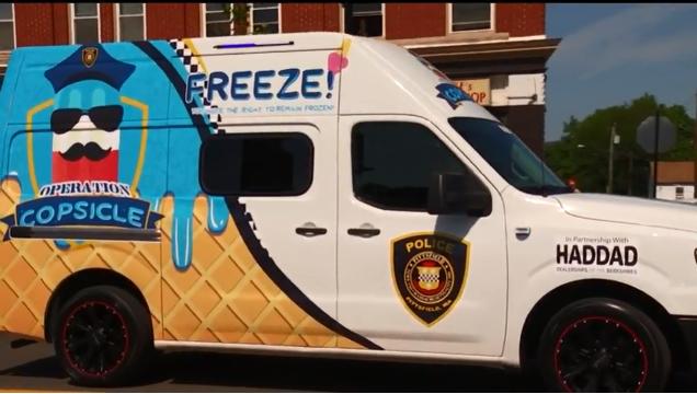 Video: Massachusetts Department's Ice Cream Truck Delivers