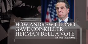 Video: Widow of Slain Officer Criticizes New York Governor for Allowing Cop-Killer to Vote
