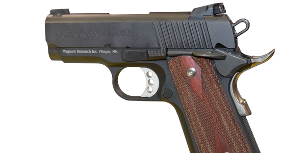 ultra-compact, ultra-light concealed carry firearm in a .45 ACP caliber