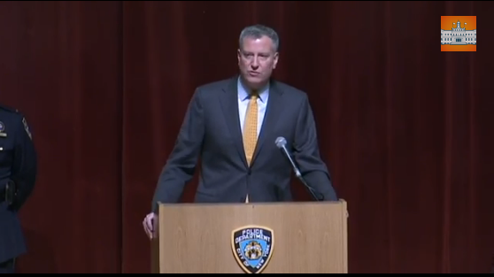 Mayor de Blasio Says He Will Not Apologize to NYPD