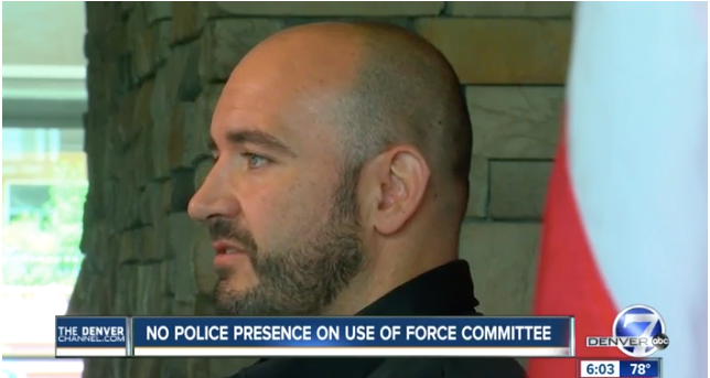 Video: Only Officer on Denver Use-of-Force Policy Committee Resigns, Calls It a Joke
