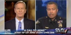 Detroit Chief Says Crime Dropped 12% Because of Legally Armed Citizens