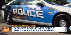 Detroit Rolls Out New Patrol Cars