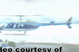 Video: Helicopter Used in Daring Police Rescue Lands in Law Enforcement Museum