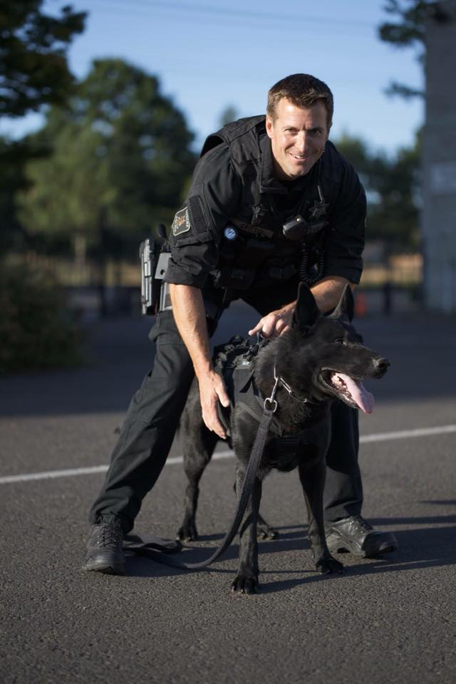OR K-9 Killed by Hit-and-Run Driver