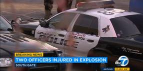 Video: CA K-9 Officers Severely Burned in Industrial Explosion