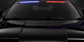"Ford to Launch New Factory ""No Profile"" Front Interior Visor Light Bar on Police Interceptor Utility"