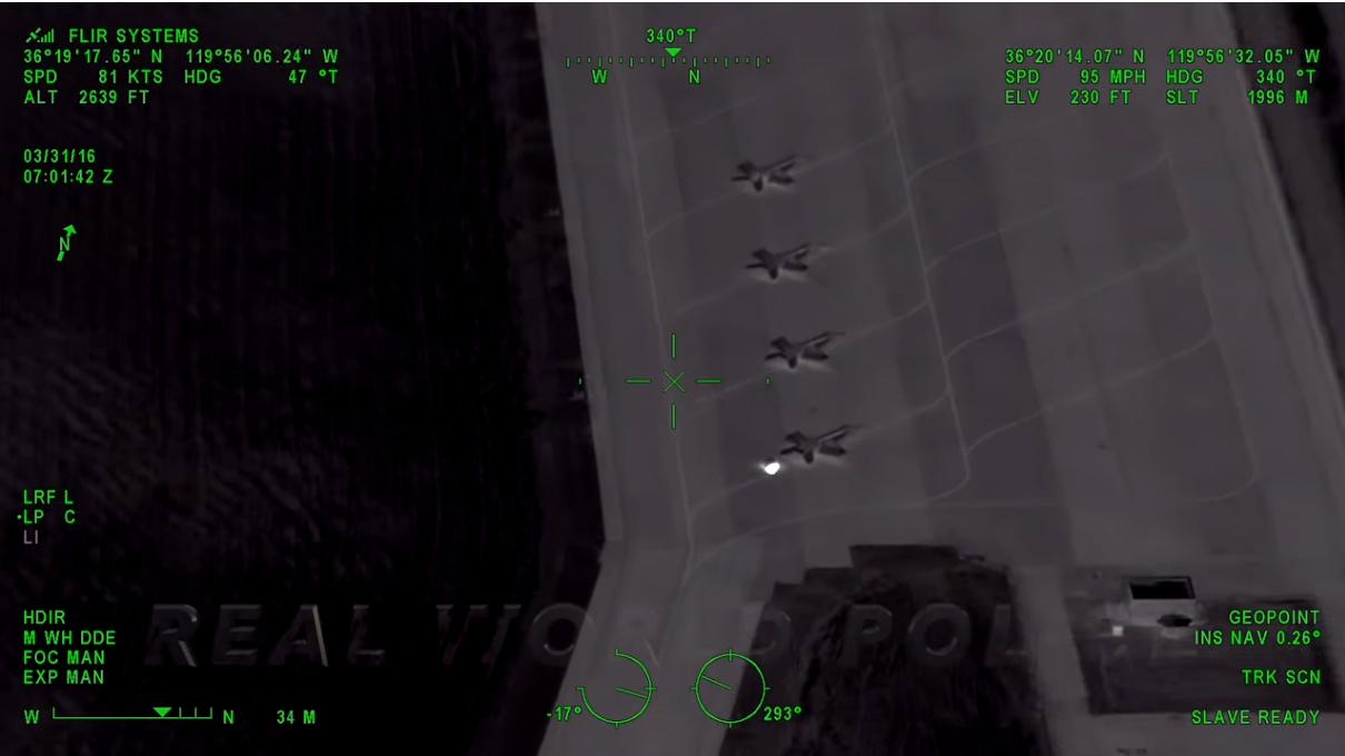 Video: CHP Release FLIR Video of 2016 Pursuit Ending at Naval Air Station Lemoore