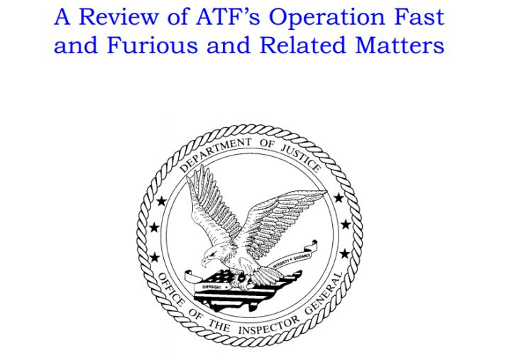 Report: ATF, Feds Mishandled 'Fast and Furious' Operation