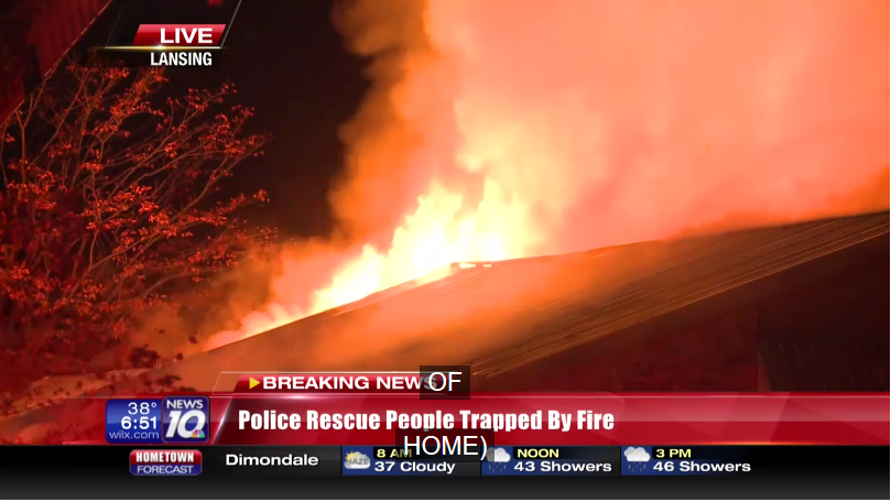 Michigan Officers Help Rescue 15 Students Trapped in House Fire